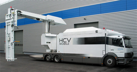 HCVM L High Energy Mobile X-Ray