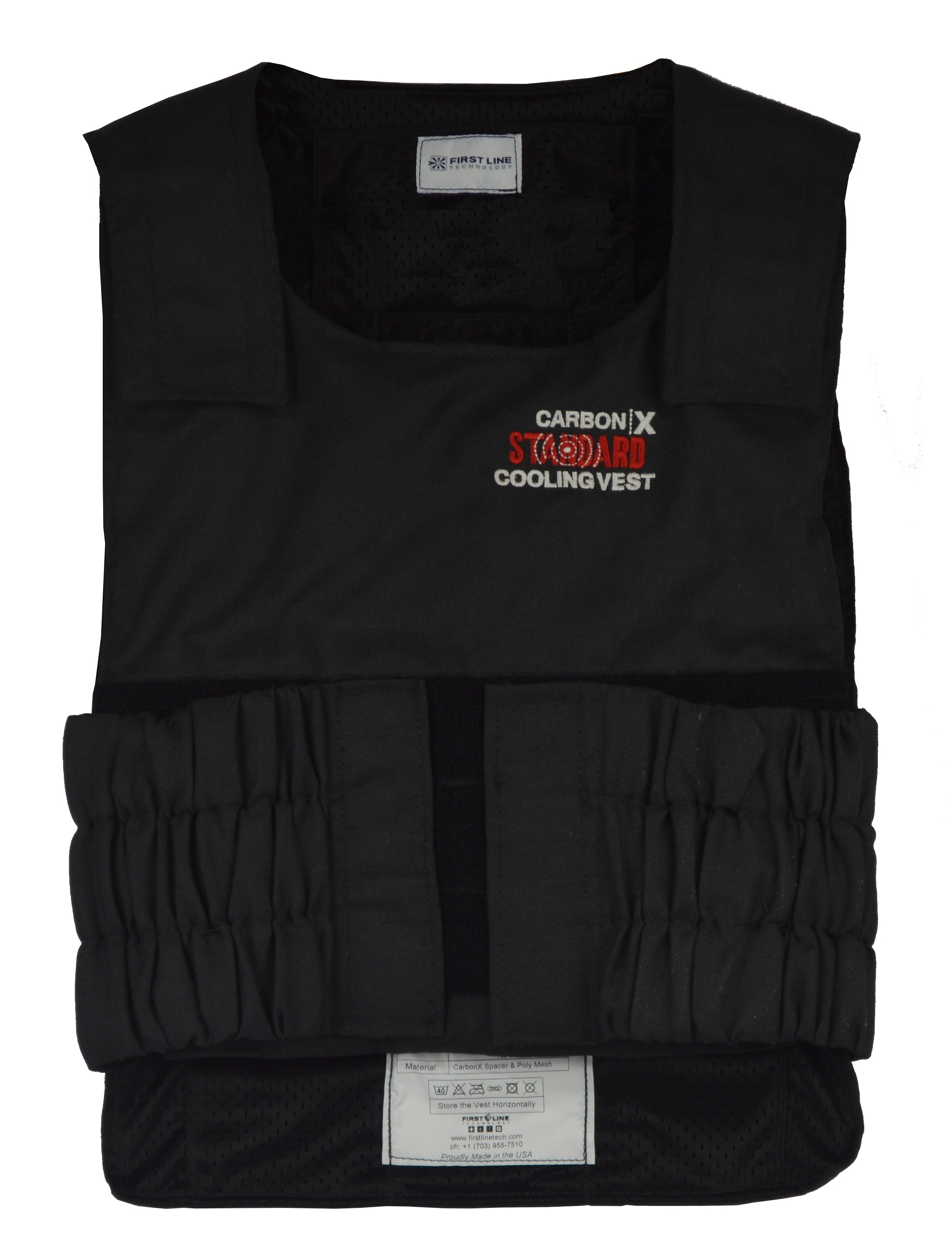 Standard CarbonX Cooling Vest with PhaseCore 28