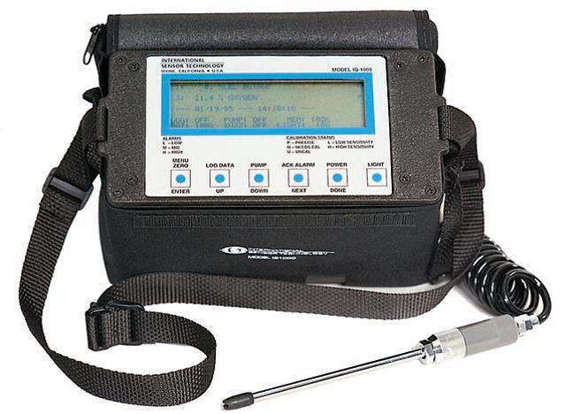 IQ-1000 Portable Gas Monitor