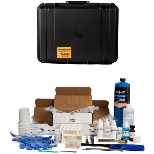 HAZCLASS® 3 WMD Test Kit